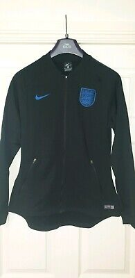 NEW Nike England Vapor Knit Womens Dri fit World Cup Training Tracksuit Top M
