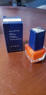 NEW AVON Nail Polish Nailwear Enamel .4 fl oz~CLEMENTINE