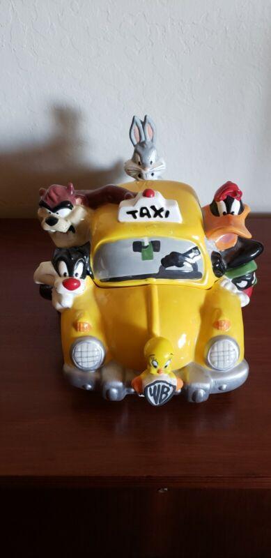 Vintage Looney Tunes Taxi Cookie Jar