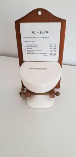 Scherzartikel WC Kasse Spardose Toilette Kurioses Spass