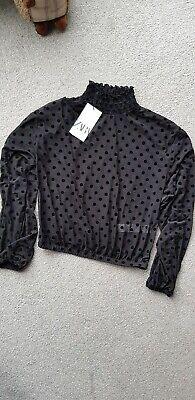 Zara blouse  Size Uk S