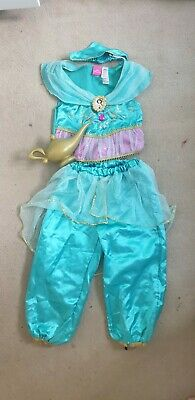 Genuine Disney Princess Jasmine Costume Outfit, Age 3-4
