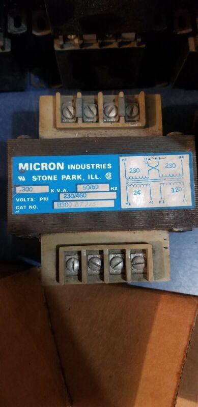 Micron Impervitran industrial control transformer # B300BT715