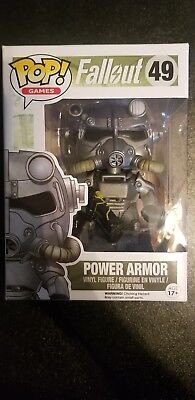 Pop! Games Fallout Brotherhood of Steel Power Armor Funko Vinyl Figure #49* - Brotherhood Of Steel Power Armor