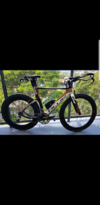 2012 54cm Blue Triad SL Elite Triathlon/TT Carbon Bike