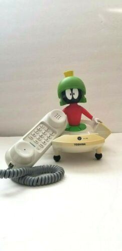 Marvin the Martian Looney Tunes Toshiba Corded Telephone Phone LT800MAR
