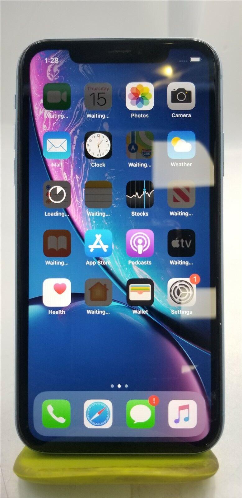 Apple iPhone XR 128GB Blue A1984 (Sprint) - iOS Smartphone ...