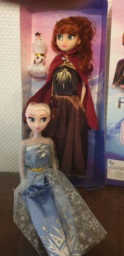 Elsa + Anna Singende Puppen - plus Olaf Die Eiskönigin  Frozen SET mit Batterie