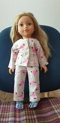 Chad Valley DESIGN A FRIEND Doll ~ pajamas and socks