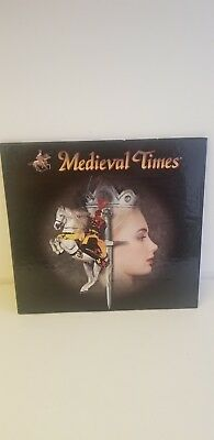 """Medieval Times Autographed Photo Display Album 5.5""""x7.5"""" Matted"""