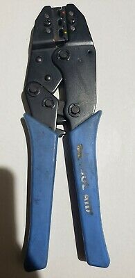 S G Tool Aid 18900 Professional Ratcheting Terminal Crimper
