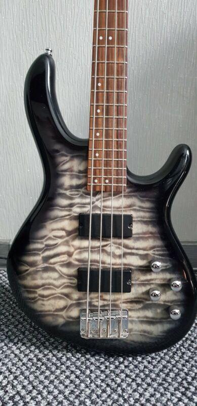Cort Action Deluxe Bass Guitar, Faded Grey Burst