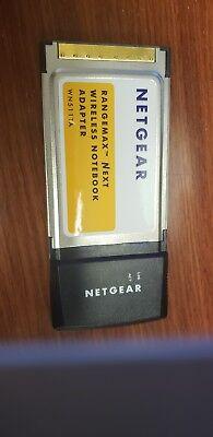 Netgear Rangemax Next wireless notebook adapter, WN511TA ()