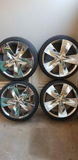 Rims (Vault) and Tyres (Nexen)