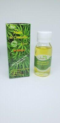 Aceite de Cáñamo 100% bio natural aceite de cannabis vert