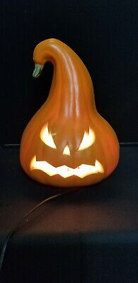 Halloween lighted foam Jack O Lantern Pumpkin   #1