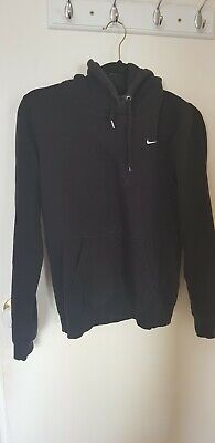 Black Nike Hoodie Hooded Jumper Sweater Size Small S 8 10