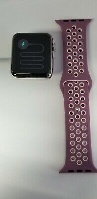 Apple Watch Series 3 Hermes 42mm Stainless Ceramic (Cellular) 16gb A1861 FR8375