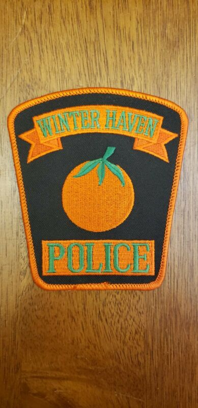 Winter Haven Florida Police Patch Collectible