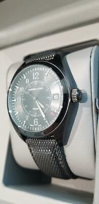 Hamilton Khaki Field PVD Black Men's Watch Quartz Model H68401735