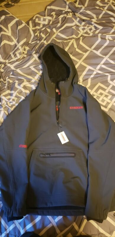 STRIKER Ice renegade pullover Jacket GRAY BLACK For Ice Fishing and more