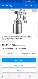 Spray gun never used $70