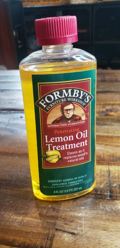 Formbys 8 oz. Discontinued penatrating Lemon Oil Treatment
