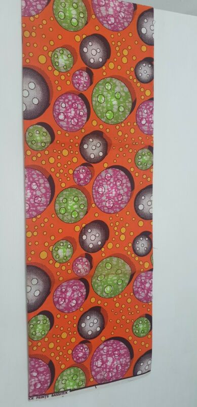 Beautiful+African+print+fabric+bold+colours+mainly+orange%2C+pink+and+green