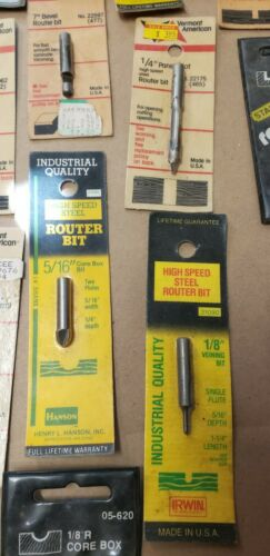 Lot Of 31 Router Bits. New Various Makers - $11.63