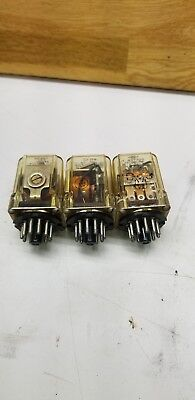 Potter Brumfield Amf Ice Cube Relay Lot Of 3 Krp14a