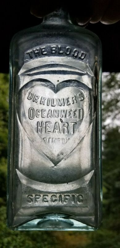 Dr. Kilmer's Ocean Weed Heart Remedy Binghamton New York NY Bottle Cure