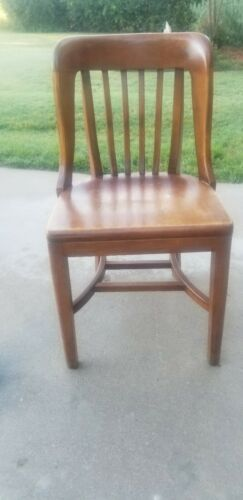 1940 High Point Bend Walnut Bankers/Lawyers Chair.  - $95.00