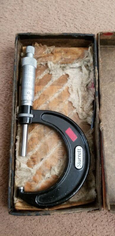 LS STARRETT 436RL  Micrometer w/ Original Box  Made in USA