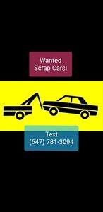 Cash for Cars TEXT/CALL 647.781.3094 Quick Pickup