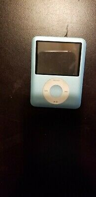 Apple Teal IPod Bundle 3rd Generation with Case and Power Cord Used Ipod Bundle