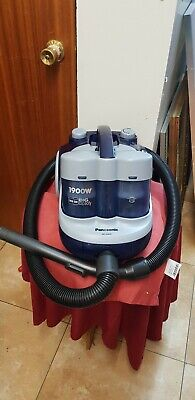 Vintage Panasonic hoover twin bin 1900w model: MC-E8021K Made in P.R.C.