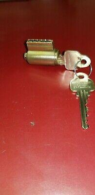 Locksmith Medeco Corbin Key In Knob Lock Cylinder 20-5006p 04 606 Level 2 Brass