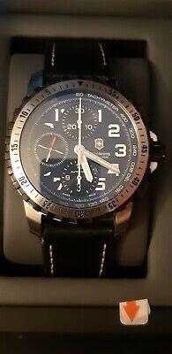 Victorinox alpnach swiss army watch  chronograph automatic valjoux 7750 movement