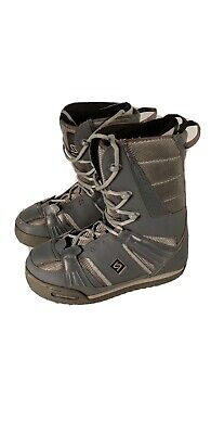 Sims Snowboard Boots Men's 10 Grey Great Condition