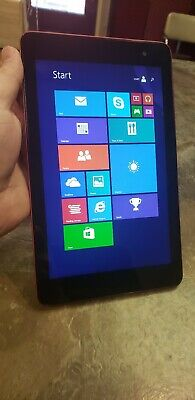 Dell Venue 8 Pro 5830 Series T01D Windows Tablet 32GB - Red - Good Condition