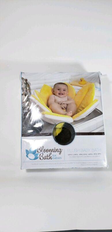 Lightly Used: Blooming Bath Original Baby Bath, Bathing Mat, Flower Bath, Yellow