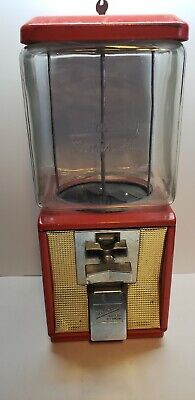 Great Northern 15in Vintage Candy Gumball Machine Bank Glass Vending