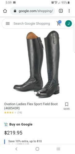 Ladies Ovation Flex Sport Field Boot