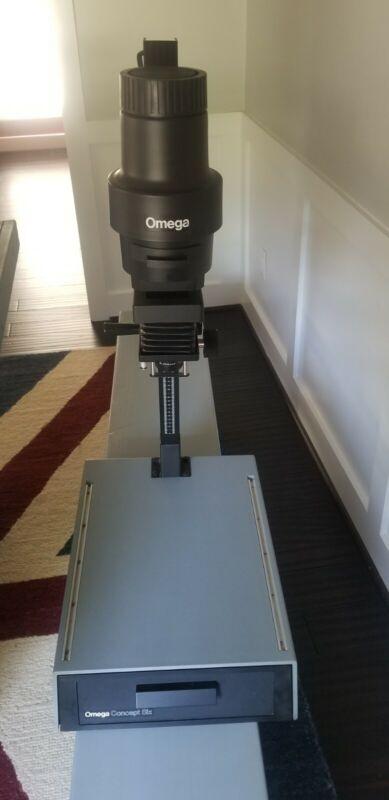 Omega B-600 Photo Enlarger 50mm f/3.5 Lens