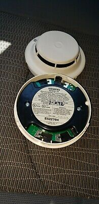 Used Siemens Hfpo-11 Smoke Detector Fs-250 Fire Alarm
