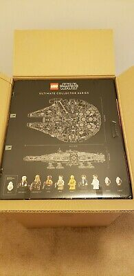 Brand New LEGO UCS MILLENIUM FALCON 75192 Factory Sealed Box