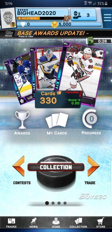 Topps Skate Purple Cards. 9 For $8. Read Item Description!