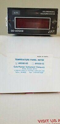 Cole-parmer 89500-00 Temperature Panel Meter