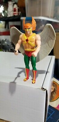 Vintage 1984 Kenner DC Hawkman Super Powers Action Figure w/Mace Loose