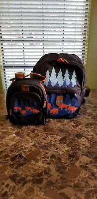 Boys Large Backpack And Lunch Box (Boys Backpack And Lunchbox)